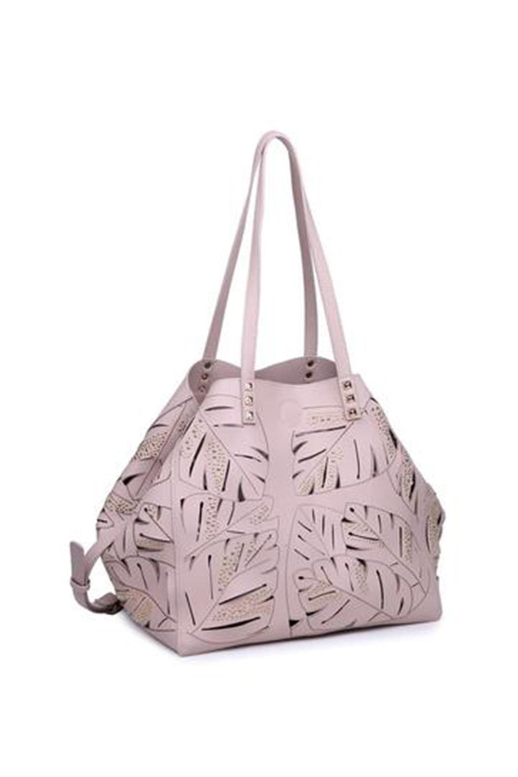 Urban Expressions Aruba Perforated Bag - Front Full Image