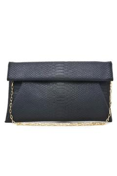 Urban Expressions Black Emilia Clutch - Product List Image