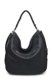 Urban Expressions Black Hobo Bag - Side cropped