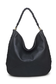 Urban Expressions Black Hobo Bag - Front cropped