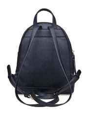 Urban Expressions Black Rose Backpack - Front full body