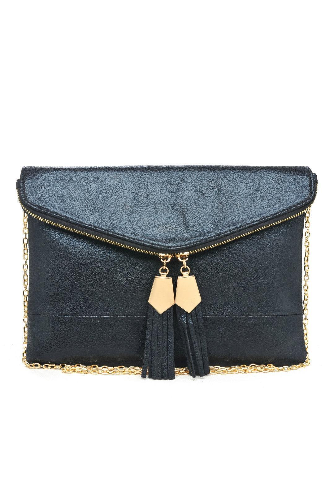 Urban Expressions Brooklyn Envelope Clutch - Front Cropped Image