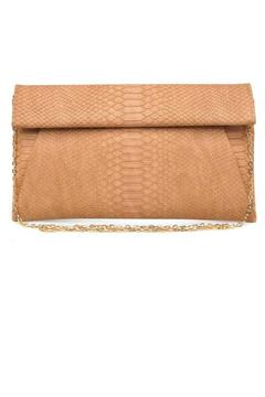 Urban Expressions Brown Emilia Clutch - Product List Image