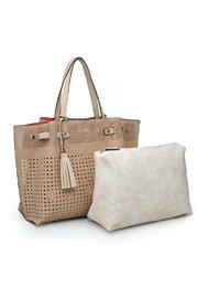 Urban Expressions Cadence Tote - Front full body