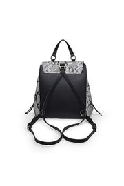 Urban Expressions Charlize Snakeskin Backpack - Back cropped