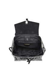 Urban Expressions Charlize Snakeskin Backpack - Side cropped