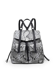 Urban Expressions Charlize Snakeskin Backpack - Front cropped