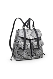 Urban Expressions Charlize Snakeskin Backpack - Front full body