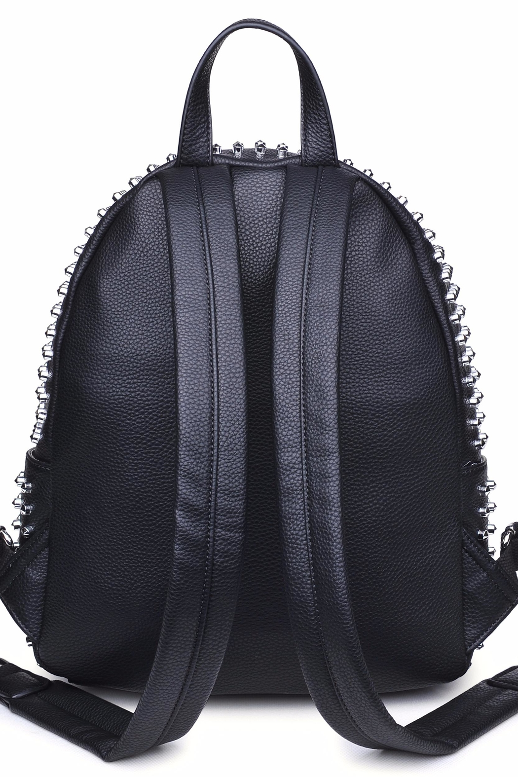 Urban Expressions Cosmos Studded Backpack - Front Full Image