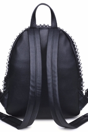 Urban Expressions Cosmos Studded Backpack - Front full body