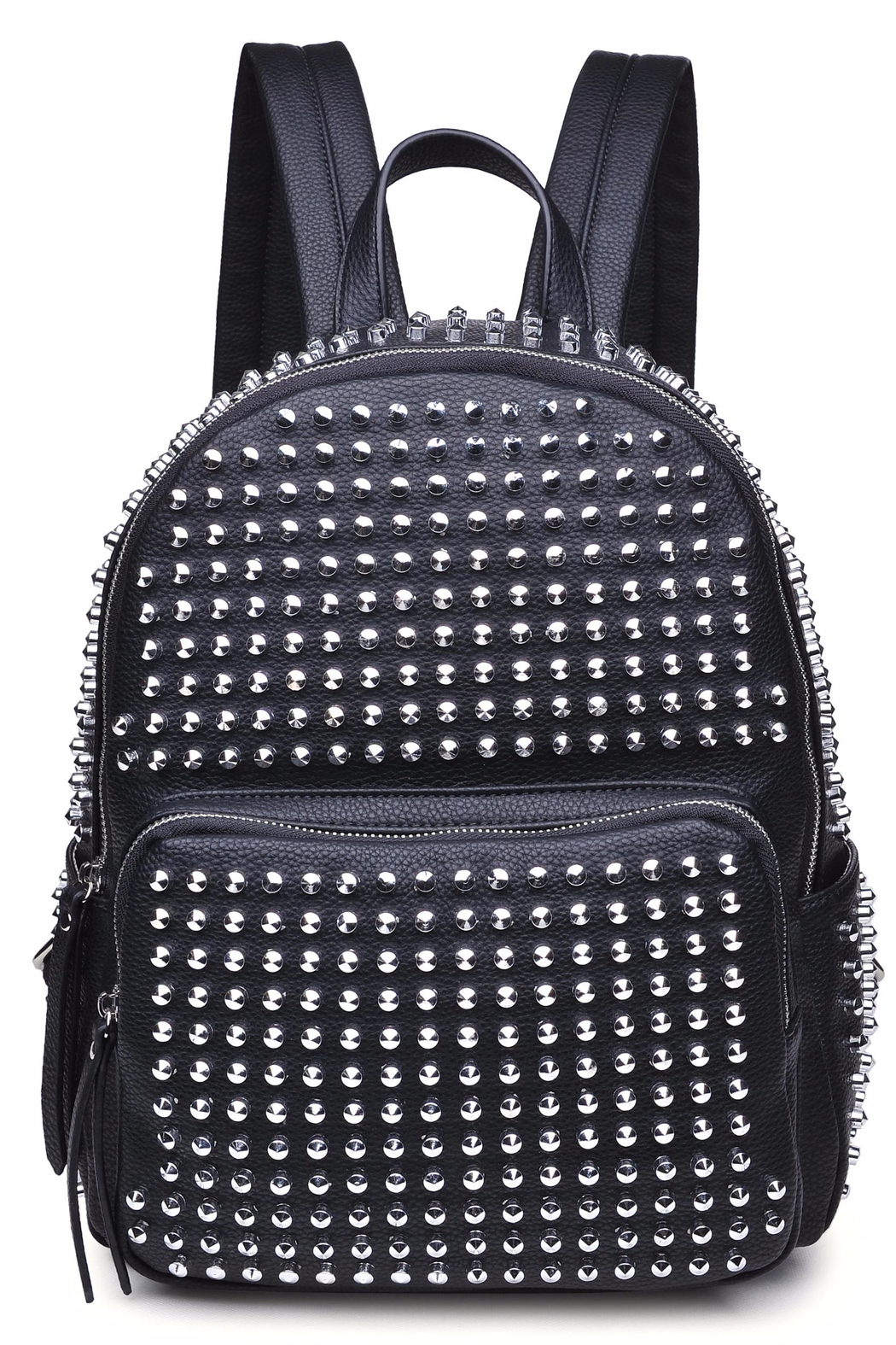Urban Expressions Cosmos Studded Backpack - Front Cropped Image
