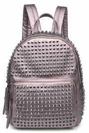 Urban Expressions Cosmos Studded Backpack - Front cropped