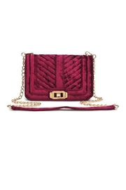 Urban Expressions Crystal Velvet Crossbody Bag - Product Mini Image