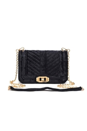 Urban Expressions Crystal Velvet Crossbody - Front cropped