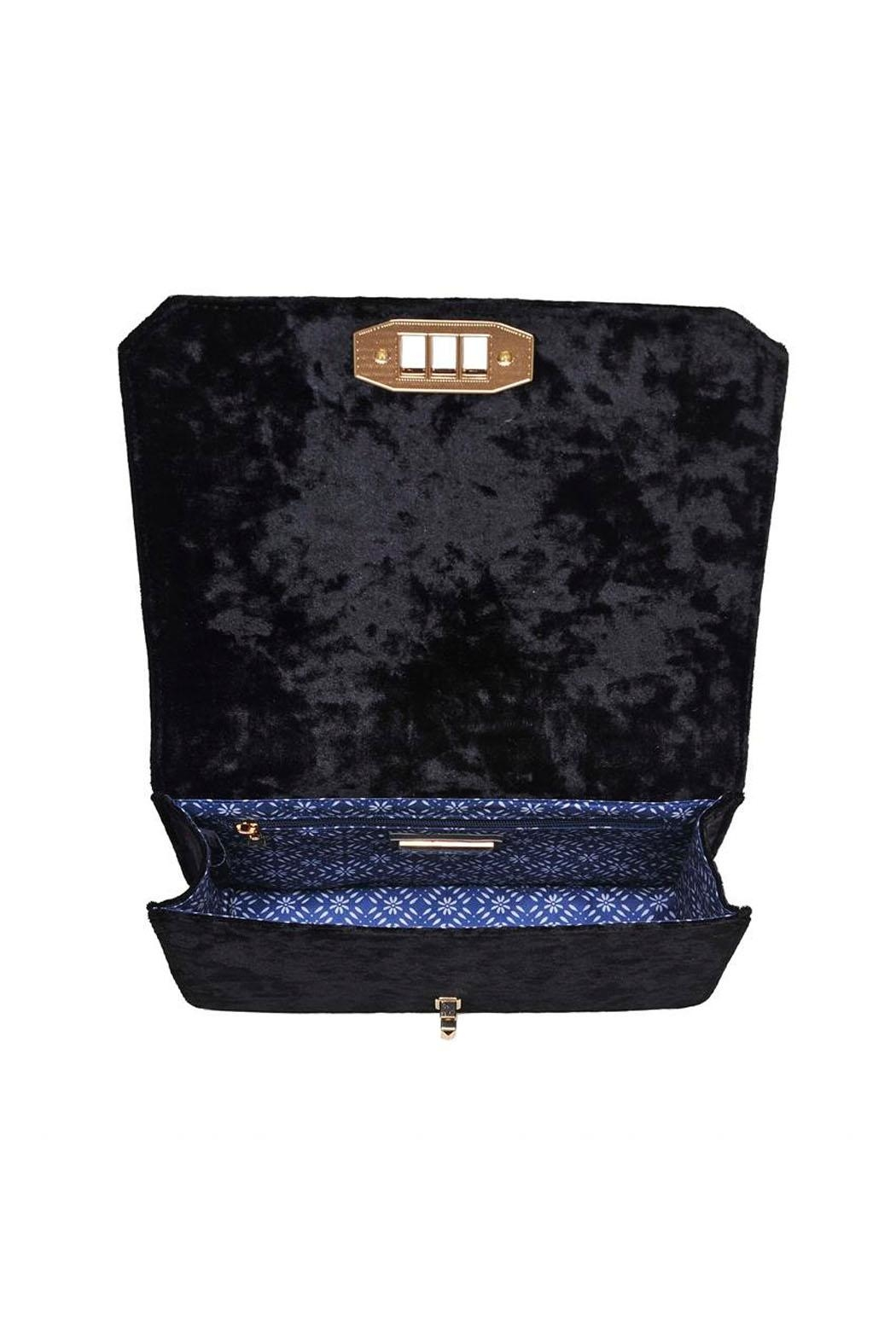 Urban Expressions Crystal Velvet Crossbody - Side Cropped Image