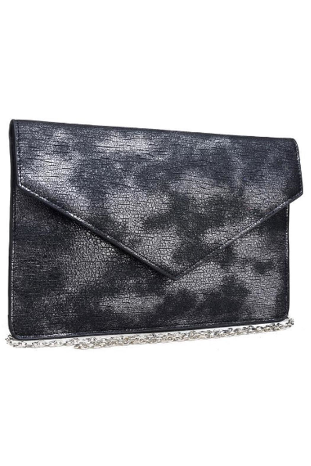 Urban Expressions Diva Metallic Clutch - Side Cropped Image