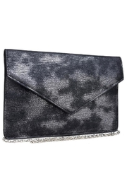 Urban Expressions Diva Metallic Clutch - Side cropped