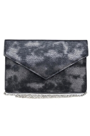 Urban Expressions Diva Metallic Clutch - Front cropped