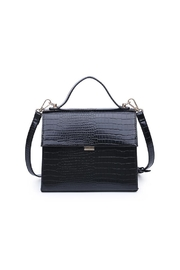 Urban Expressions Elliot Crocodile Crossbody - Front cropped