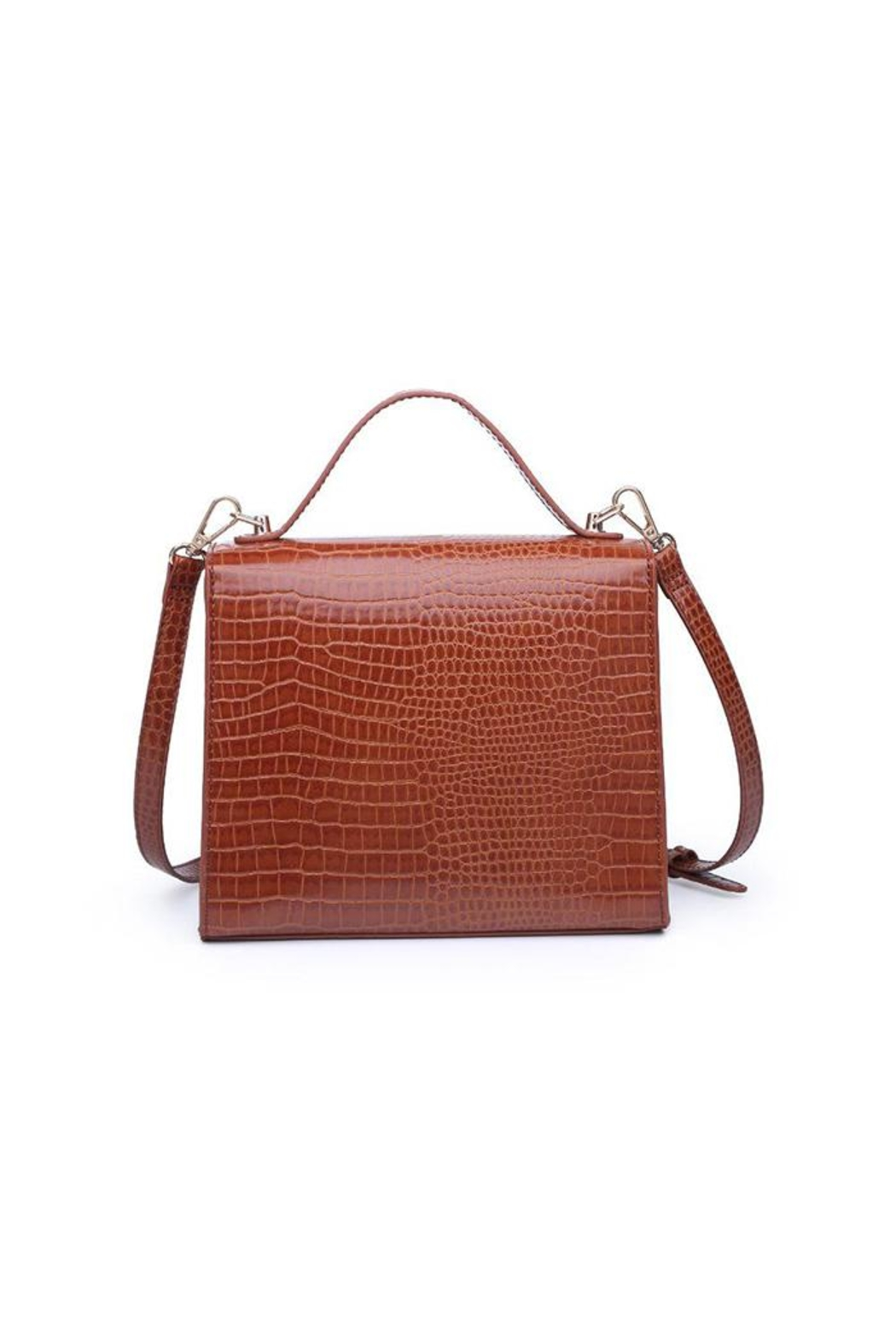 Urban Expressions Elliot Crocodile Crossbody - Front Full Image