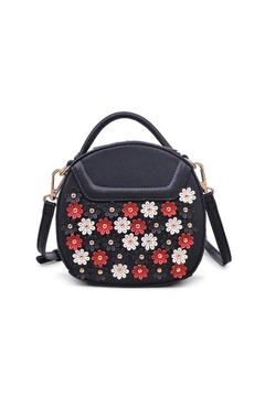 Urban Expressions Flowery Mini Crossbody Bag - Product List Image