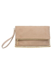 Urban Expressions Gisele Foldover Clutch - Front cropped