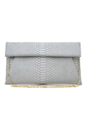 Urban Expressions Grey Emilia Clutch - Product Mini Image
