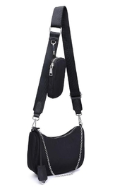Urban Expressions Joss Crossbody Bag - Front full body