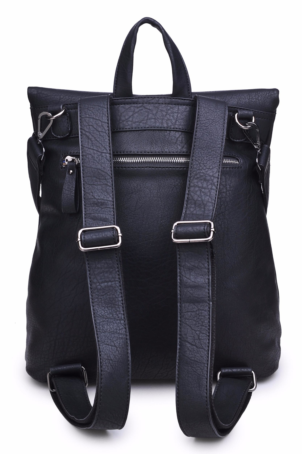 Urban Expressions Lennon Foldover Backpack - Front Full Image