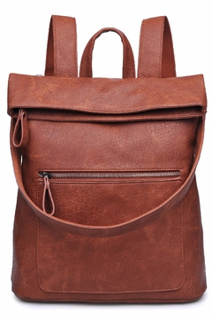 Urban Expressions Lennon Foldover Backpack - Product List Image