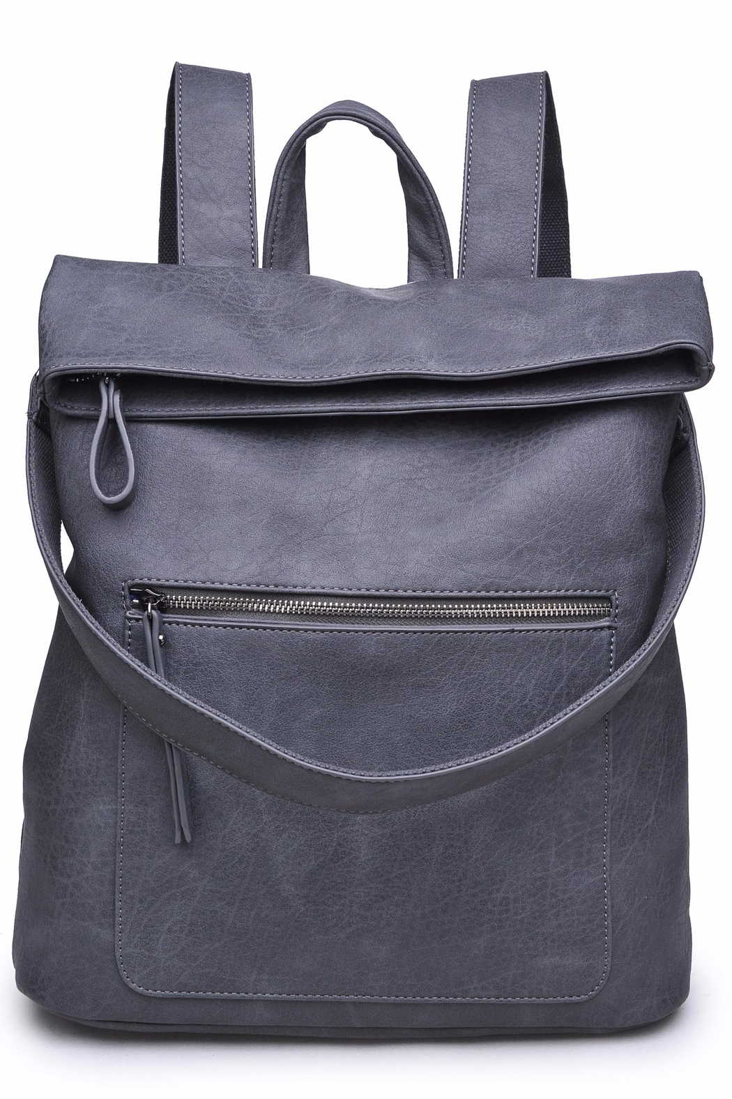 Urban Expressions Lennon Foldover Backpack - Front Cropped Image