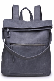 Urban Expressions Lennon Foldover Backpack - Front cropped