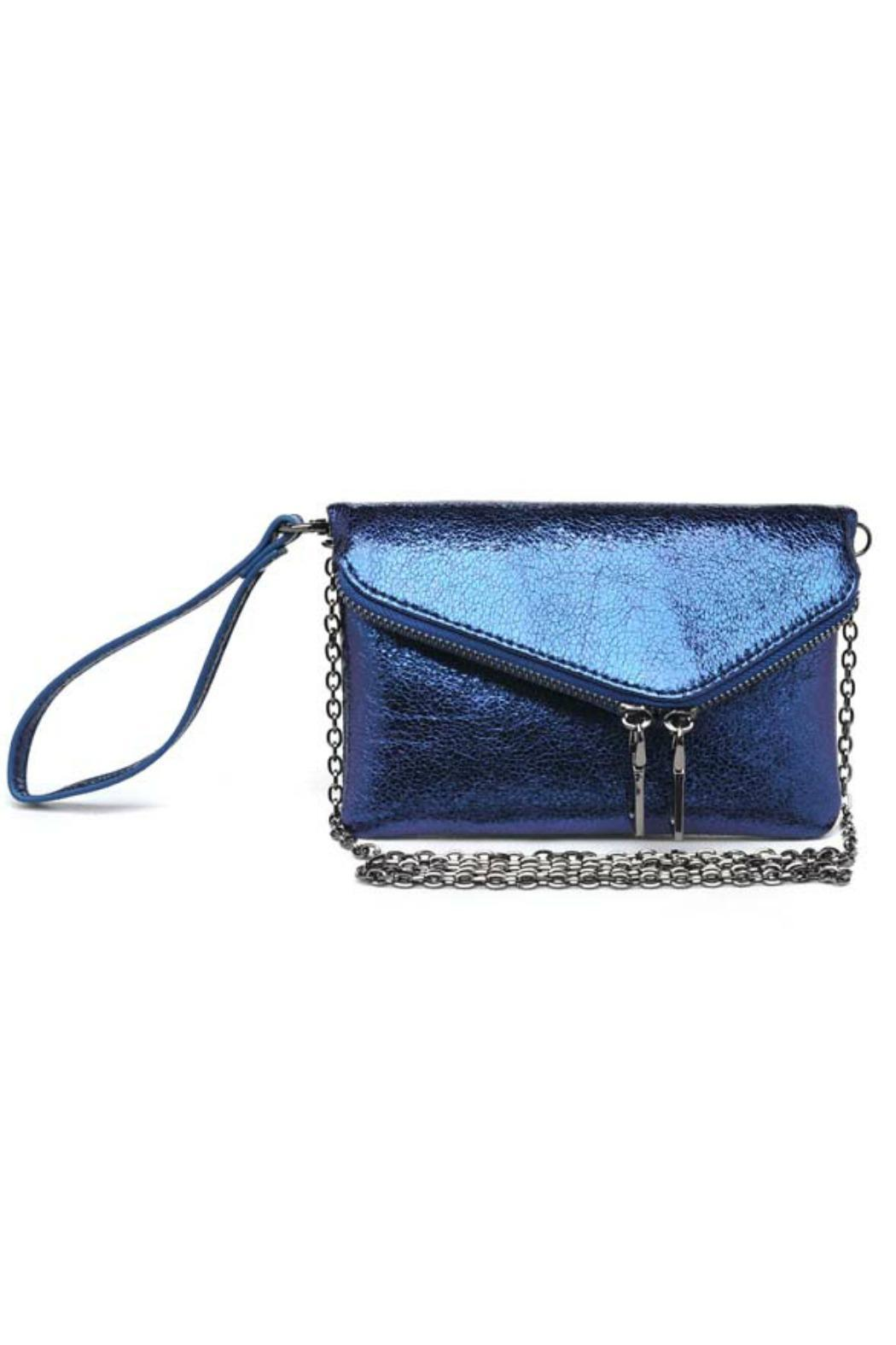 Urban Expressions Lucy Metallic Clutch - Main Image