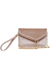 Urban Expressions Lucy Velvet Clutch - Front cropped