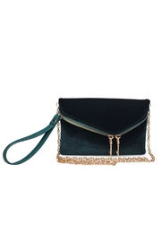 Urban Expressions Lucy Velvet Clutch - Product Mini Image