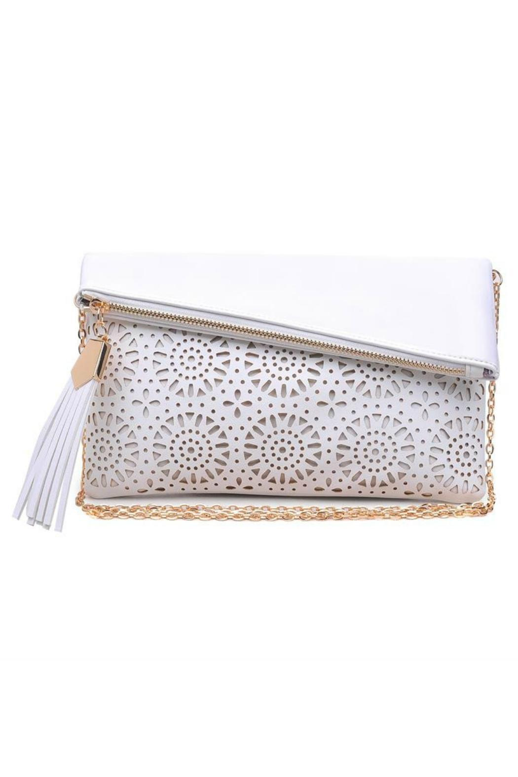 Urban Expressions Maddox Foldover Clutch - Front Cropped Image