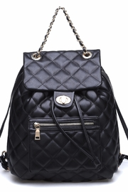 Urban Expressions Monroe Quilted Backpack - Product Mini Image