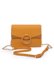 Urban Expressions Mustard Crossbody Bag - Front cropped