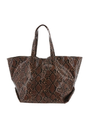 Urban Expressions Mylah Python Tote - Product Mini Image
