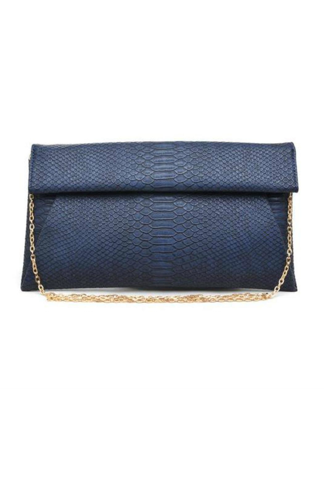 Urban Expressions Navy Emilia Clutch - Main Image