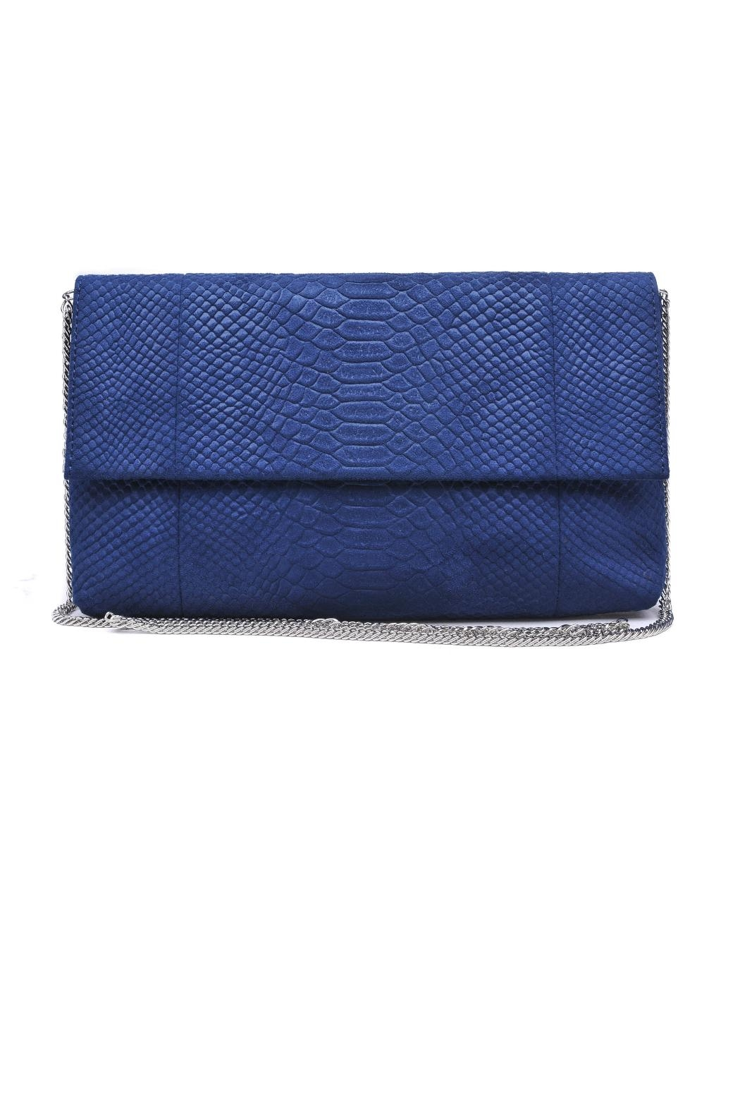 Urban Expressions Navy Phoebe Clutch - Main Image