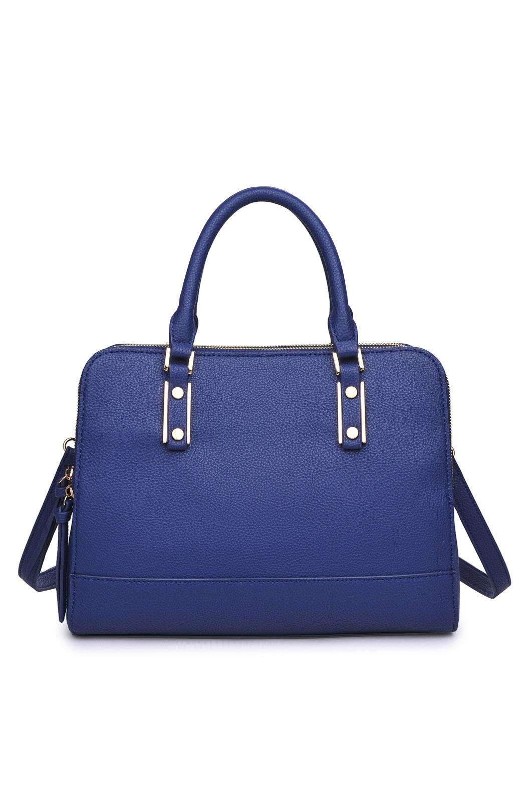 Urban Expressions Navy Satchel Bag - Main Image