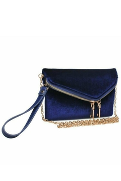Urban Expressions Navy Velvet Lucy - Product List Image