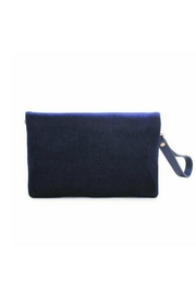 Urban Expressions Navy Velvet Lucy - Back cropped
