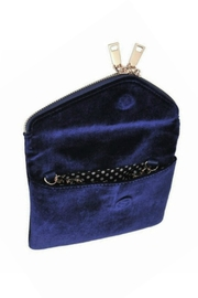 Urban Expressions Navy Velvet Lucy - Side cropped