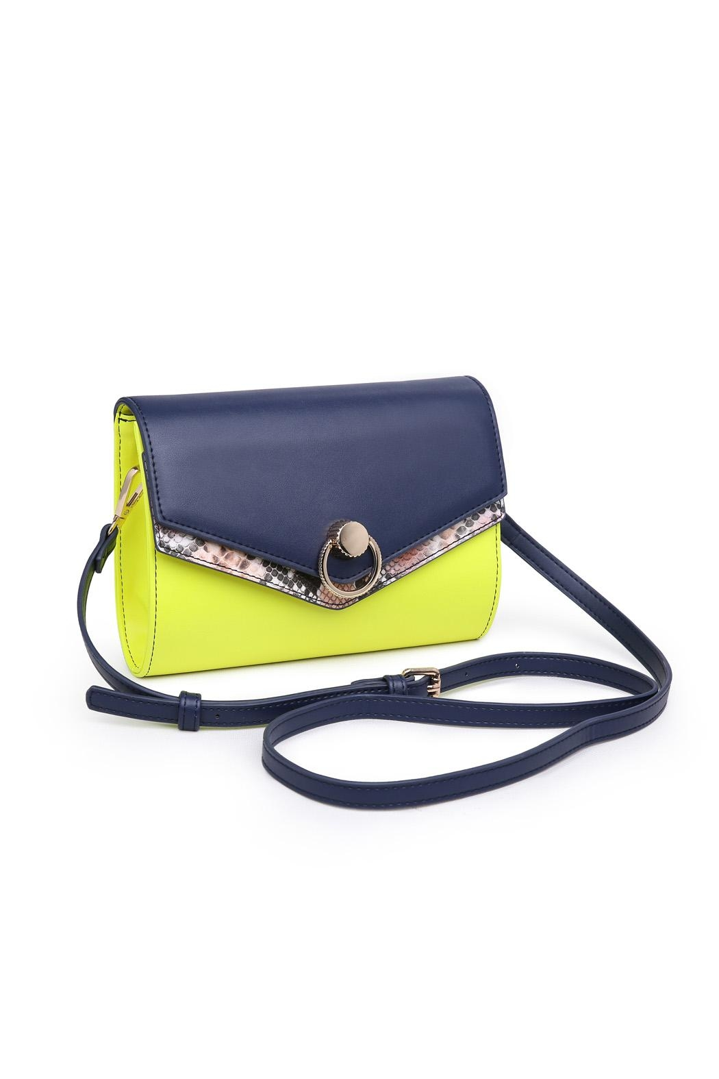 Urban Expressions Neon Crossbody Bag - Front Full Image