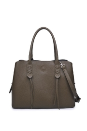 Urban Expressions Olive Satchel Bag - Product Mini Image