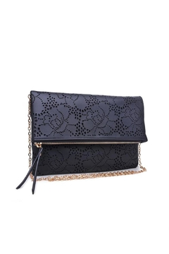 Urban Expressions Perforated Clutch - Product List Image
