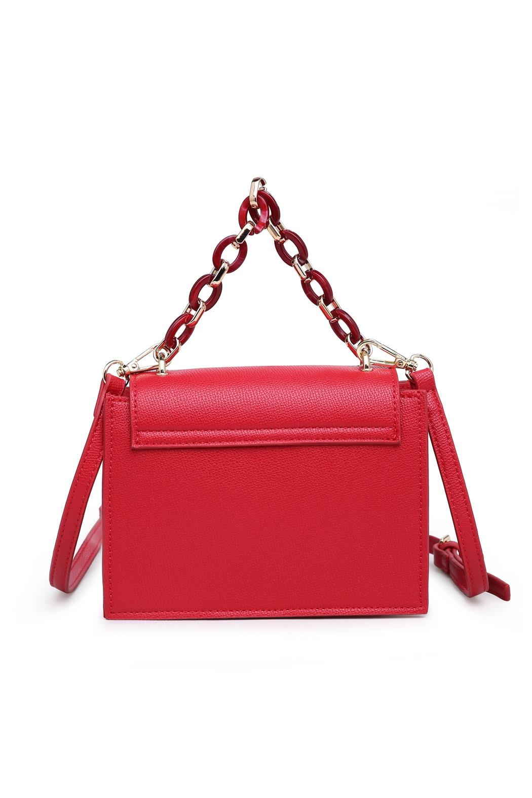 Urban Expressions Red Crossbody Bag - Side Cropped Image