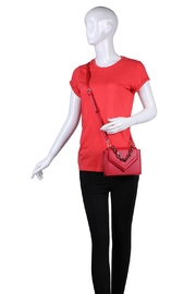Urban Expressions Red Crossbody Bag - Other